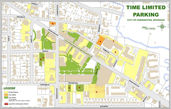 Map-Time Limited Parking